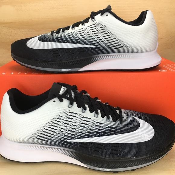 1ea2580c521d4 Nike Air Zoom Elite 9 IX Black White Running Shoes